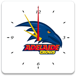 Adelaide Crows Analog Clock