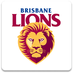 Brisbane Lions Spinning Logo