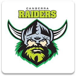 Canberra Raiders Spinning Logo