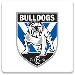 Canterbury Bulldogs Spinning Logo