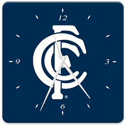 Carlton FC Analog Clock