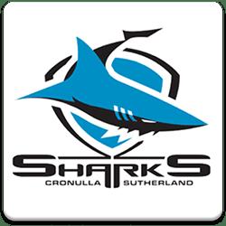 Cronulla Sharks Spinning Logo