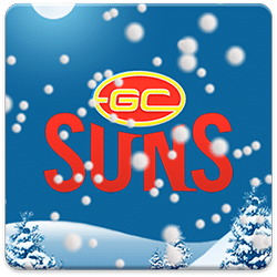 Gold Coast SUNS Snow Globe