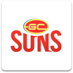 Gold Coast SUNS Spinning Logo