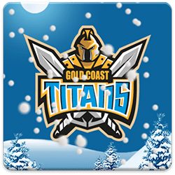 Gold Coast Titans Snow Globe