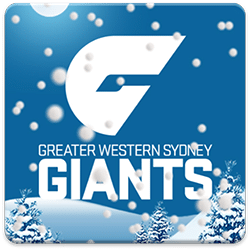 GWS Giants Snow Globe