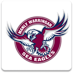 Manly Sea Eagles Spinning Logo