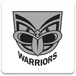 New Zealand Warriors Spinning Logo