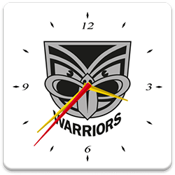 New Zealand Warriors Analog Clock