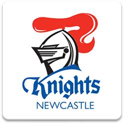 Newcastle Knights Spinning Logo
