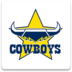 North  Queensland Cowboys Spinning Logo