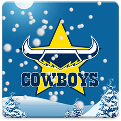 North Queensland Cowboys Snow Globe