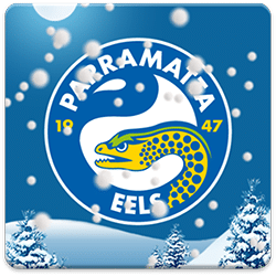 Parramatta Eels Snow Globe