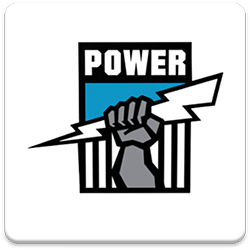 Port Adelaide Spinning Logo