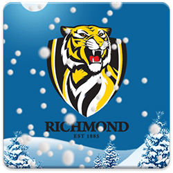 Richmond Tigers Snow Globe