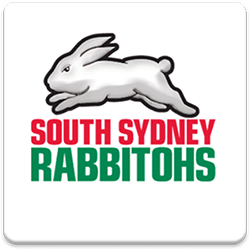 South Sydney Rabbitohs Spinning Logo