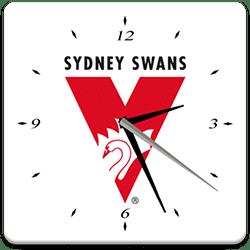 Sydney Swans Analog Clock