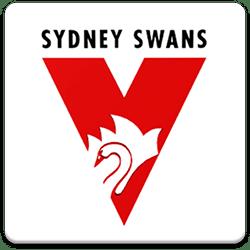 Sydney Swans Spinning Logo