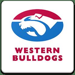 Western Bulldogs Spinning Logo