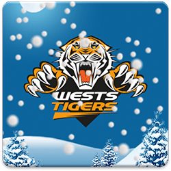 Wests Tigers Snow Globe