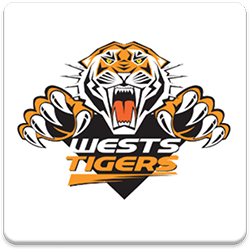 Wests Tigers Spinning Logo